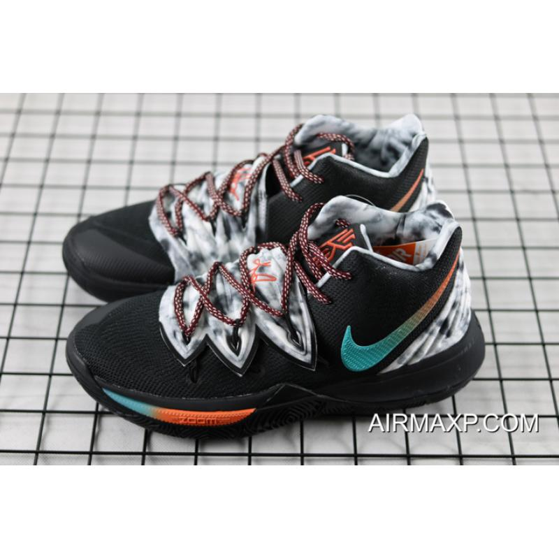 finest selection 2347a b773d ... Nike Kyrie 5 Black Multi-Color Top Deals ...