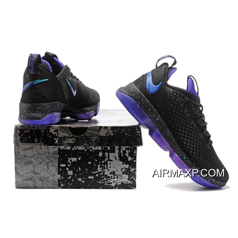 ef6730ea1353 ... usa nike lebron 14 low black blue purple where to buy d4a9f 08284