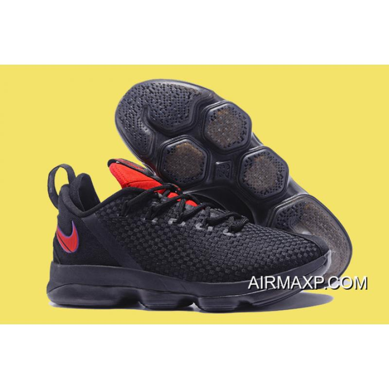 a20f48922e38 Nike LeBron 14 Low  Flip The Switch  Black Red Online ...