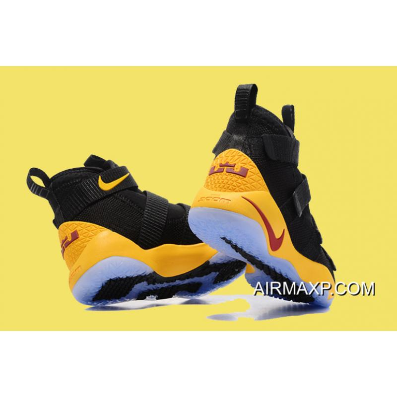 a7b8e1ce96c00 ... australia nike lebron soldier 11 black yellow and wine red big deals  218dc e92bd