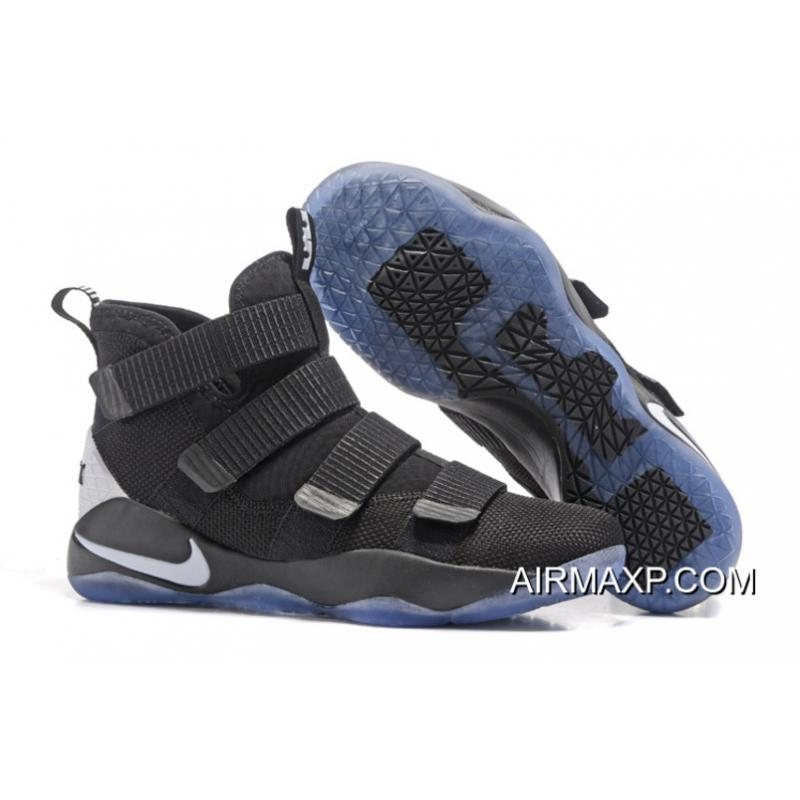 Nike LeBron Soldier 11 Black And White Buy Now ... a9158b990c