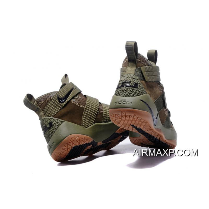 1c1f9b94089fb ... Nike LeBron Soldier 11  SFG  Medium Olive And Black-Black Buy Now ...