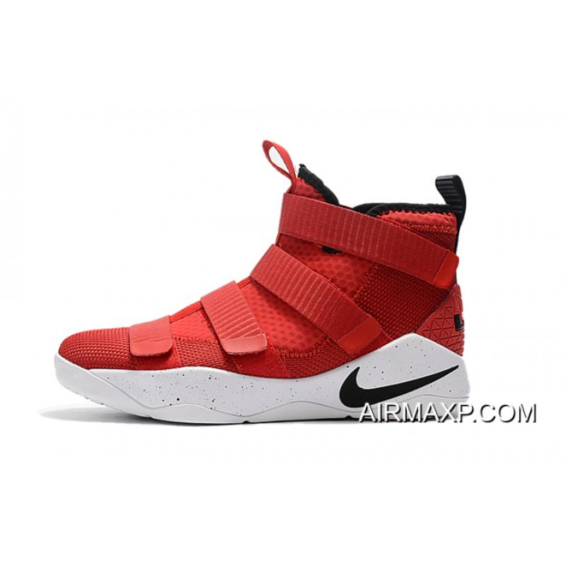 new style be925 e4636 black and white lebron soldier 11