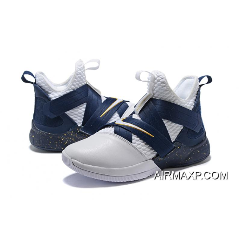 158c3b94e933 Buy Now Nike LeBron Soldier 12 White Midnight Navy-Mineral Yellow ...