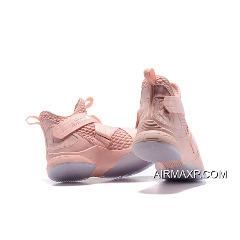 Nike LeBron Soldier 12 Soft Pink New
