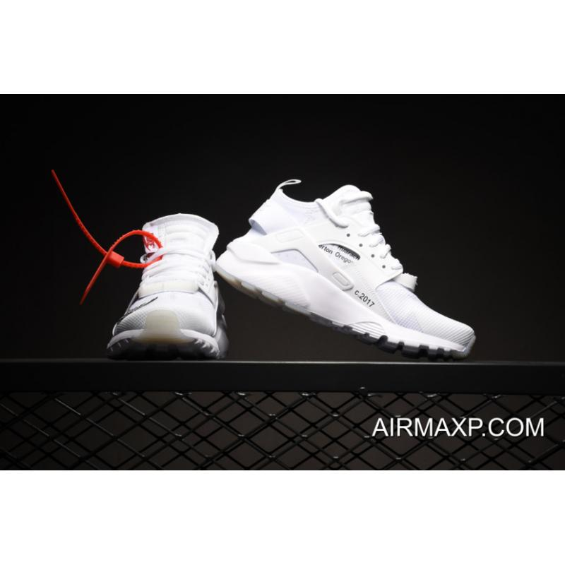 finest selection d1903 8c456 ... Women Men OFF-WHITE X Nike Air Huarache Ultra White Latest ...