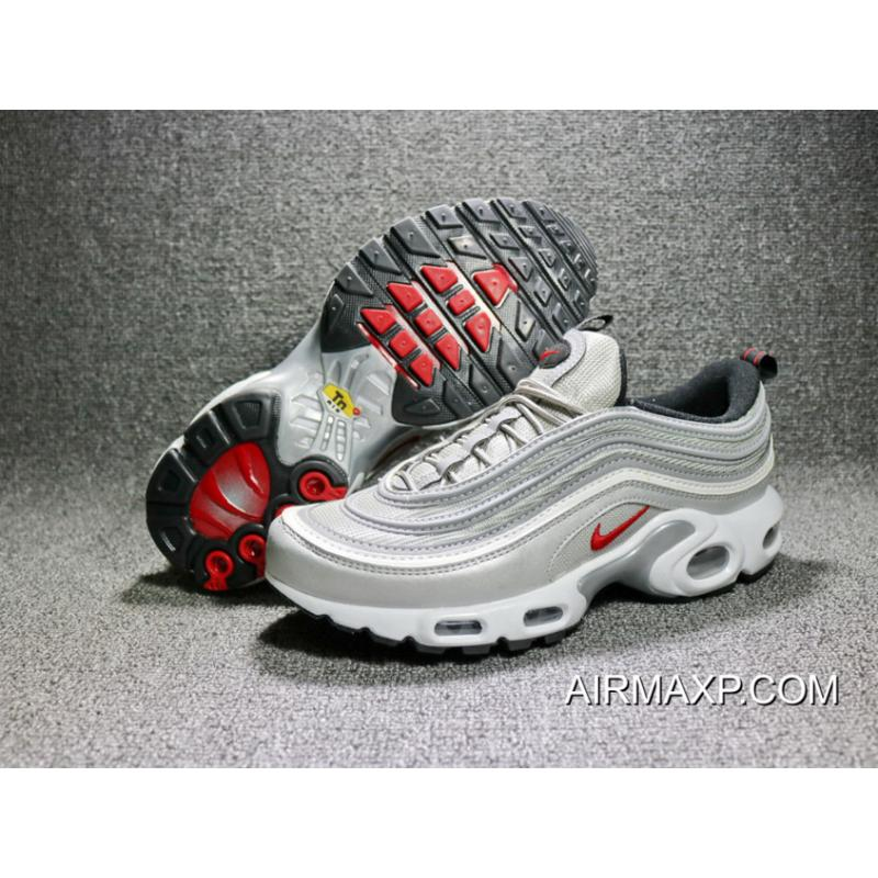new styles 349f6 3b1ff Women Men Nike Air Max 97 Plus Silver Bullet Big Discount ...