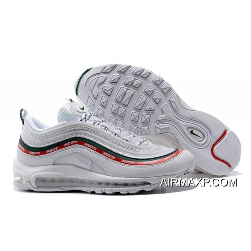 Women Men For Sale Undefeated X Nike Air Max 97 OG Sail And White- ... 59d476cb07