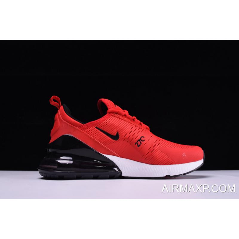 new arrival ee451 ce6f7 Nike Air Max 270 Red And Black With White Latest