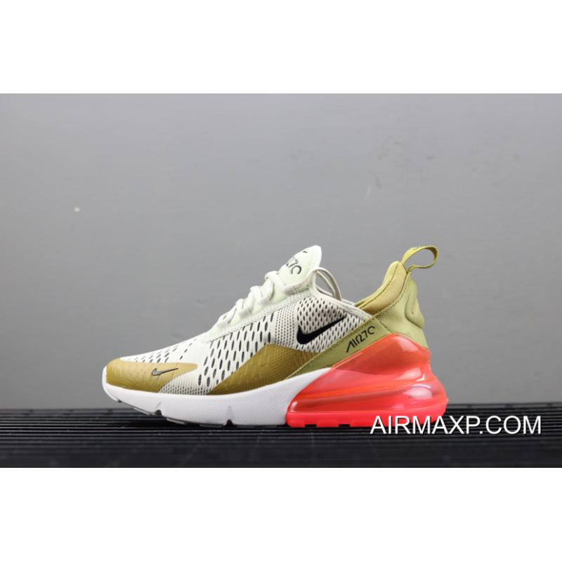 "brand new 276df 2c84a Women Where To Buy Nike Air Max 270 ""Flight Gold"" ..."