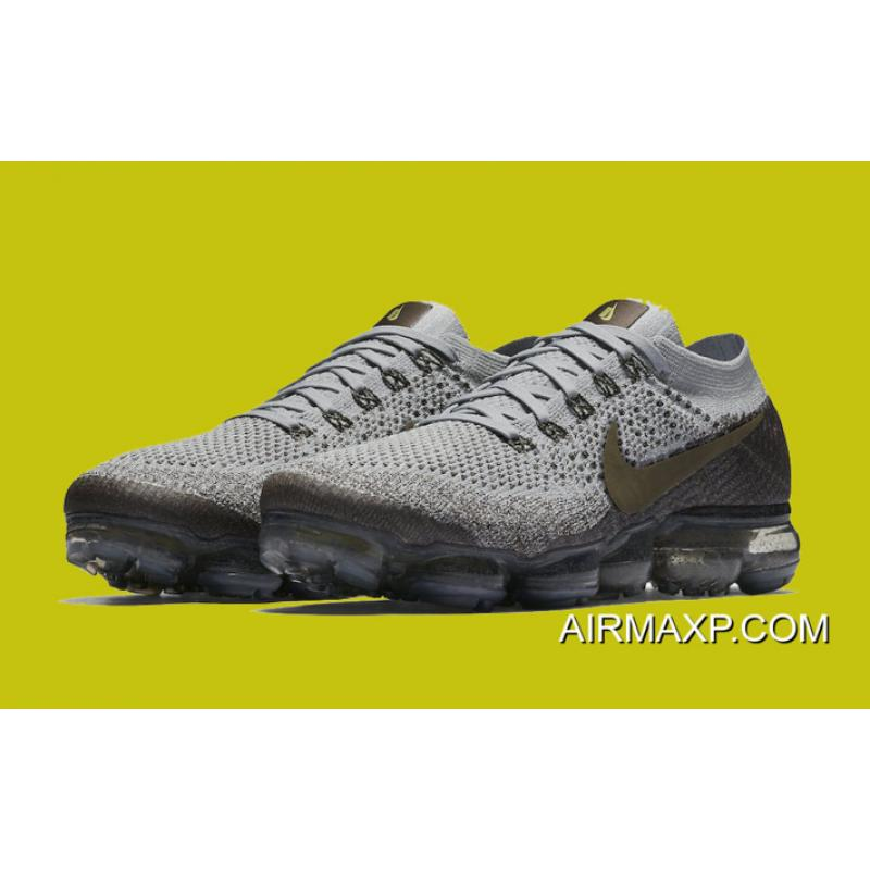 3d643ea3c304a Women Nike Air VaporMax Midnight Fog And Medium Olive-Wolf Grey For Sale ...