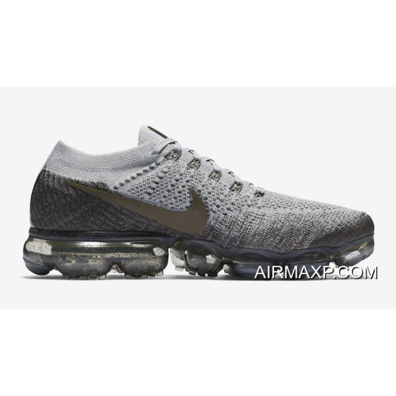premium selection 64083 3960b Women Nike Air VaporMax Midnight Fog And Medium Olive-Wolf Grey For Sale