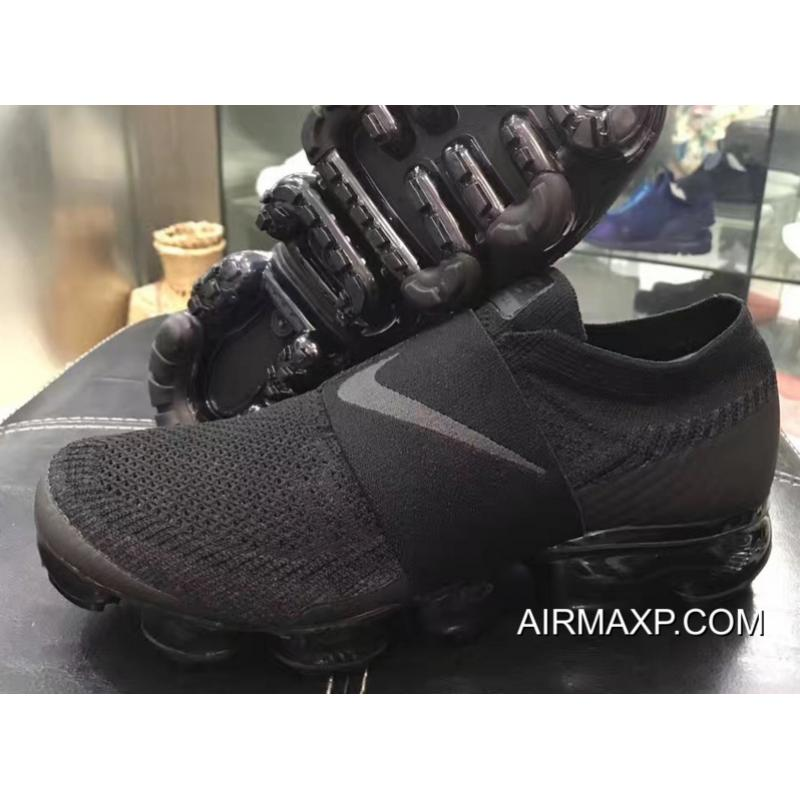 0ddf32de0d35 Nike Air VaporMax Strap 2018  Triple Black  Big Deals ...