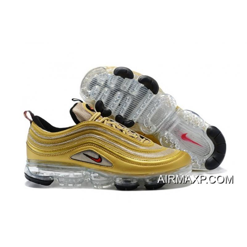 c306728715 Women/Men Nike Air VaporMax 97 Metallic Gold Authentic, Price ...