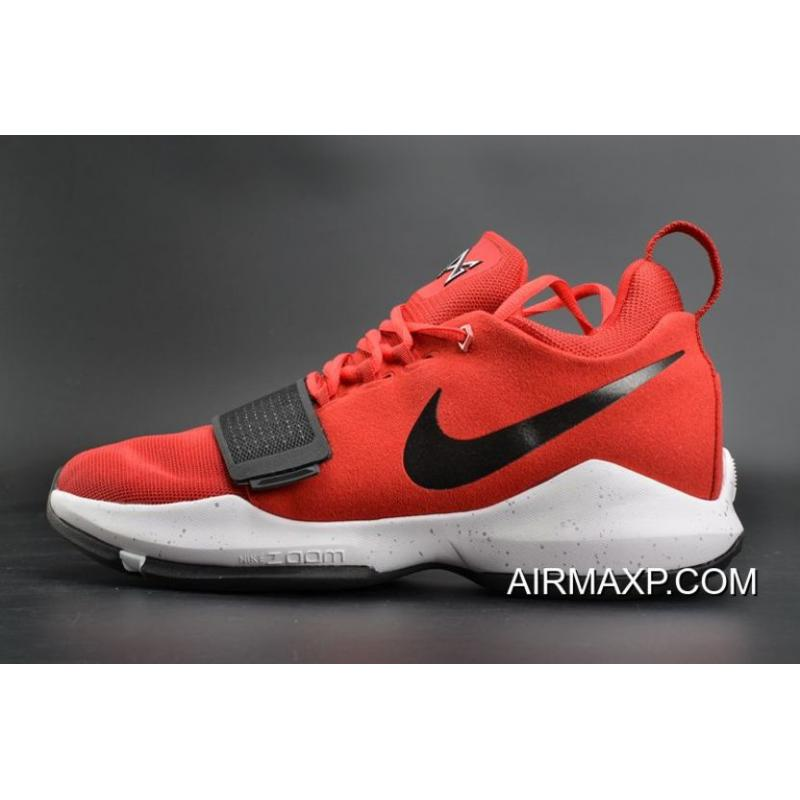 hot sale online da815 d10f2 Discount Nike PG 1 EP University Red And White-Black ...