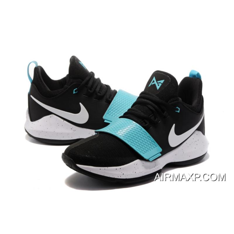 843818586efa ... Discount Nike PG 1  Blockbuster  Black Light Bone-Light Aqua ...