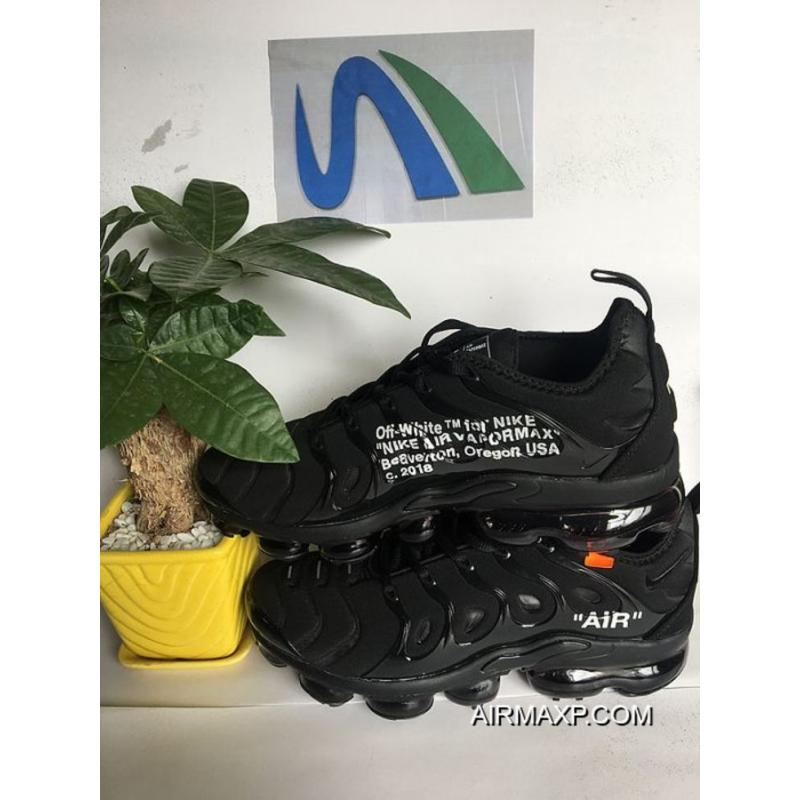 newest 15f73 1437d Men OFF-WHITE X Nike Air VaporMax 2018 Plus TN Running Shoes SKU:149888-441  Outlet