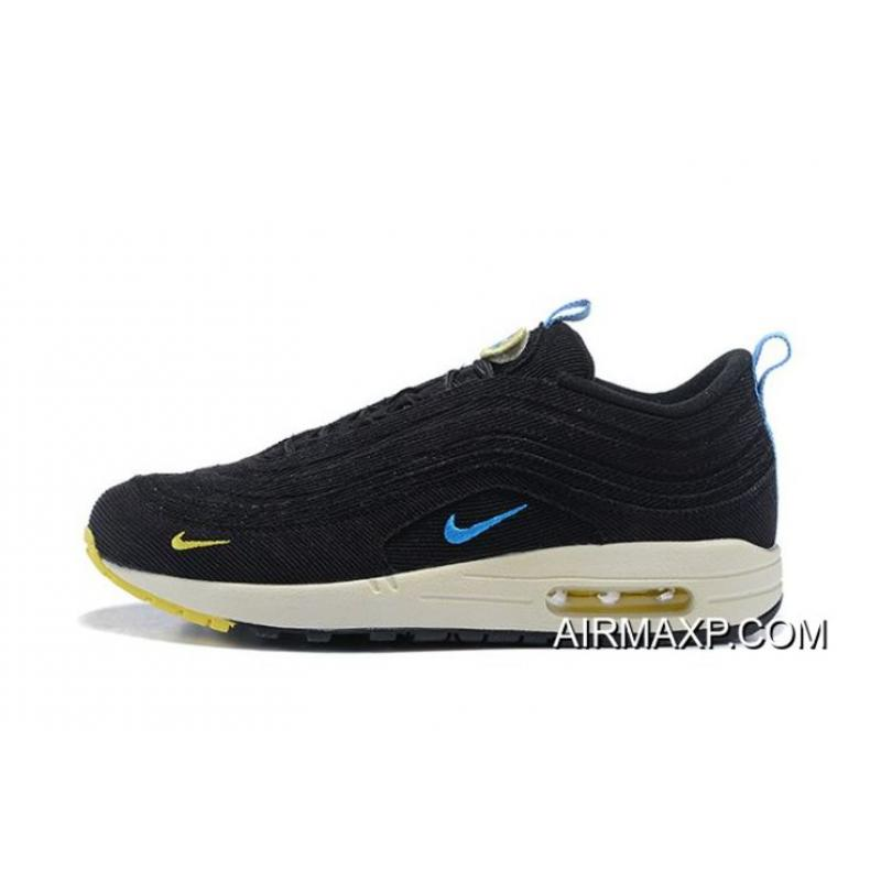 finest selection cf52c c619c Women Sean Wotherspoon Nike Air Max 97 Hybrid SKU:113040-255 New Style ...