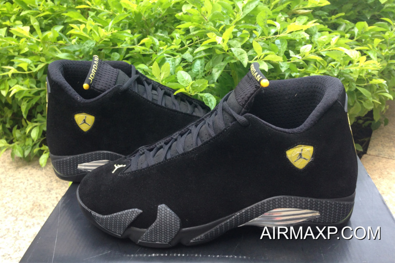 meet 6de3d 70722 For Sale Air Jordan 14 'Ferrari' Black And Vibrant Yellow-Anthracite-Black