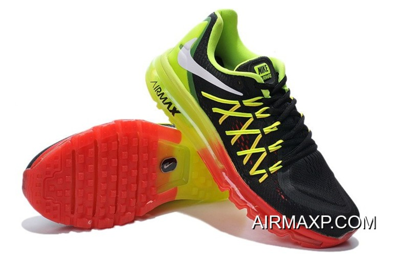 Nike Air Max 2015 Red Black Green New Year Deals