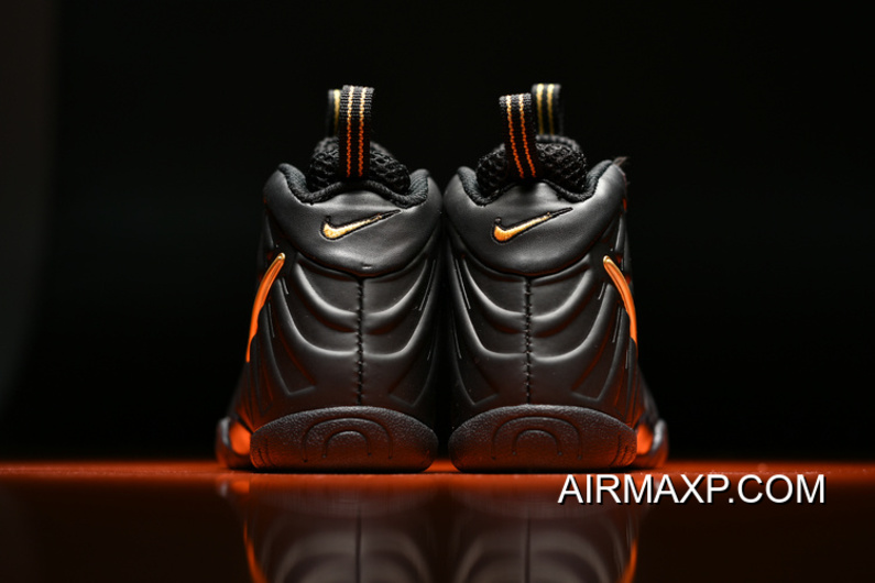 new product bb52d a8ca4 For Sale Kids Nike Air Foamposite Pro Black Gold