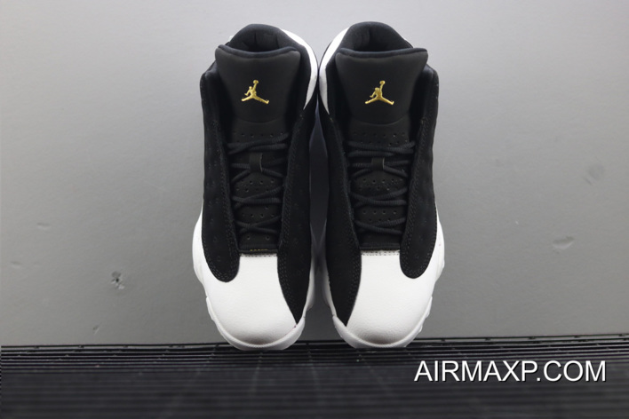 ad238e072a051d Women Where To Buy Air Jordan 13  City Of Flight  Black Metallic Gold