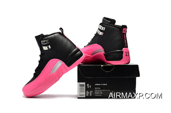 half off e1308 9598f Top Deals Air Jordan 12 Deadly Pink For Kids