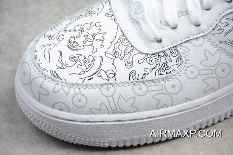 895a49e3e New Release Nike Air Force 1 Low PRM YOTD '18 White, Price: $78.17 ...