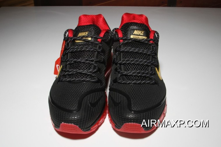 0d0f8445aa Nike Air Max 2018 Elite Black Red Yellow Discount, Price: $76.70 ...