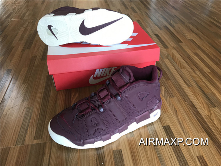 Best Nike Air More Uptempo  Bordeaux  Night Maroon Night Maroon-Sail ... 233ba8c76