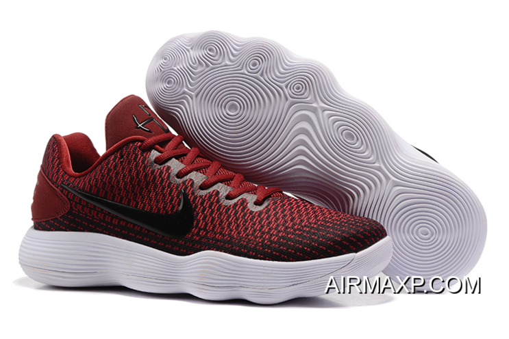 9f49dce5eab6 Big Discount Nike Hyperdunk Low 2017 Wine Red White
