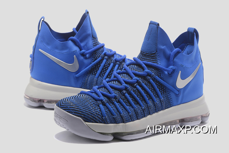 3232c22362214 Where To Buy Nike KD 9 Elite  Golden State Warriors  PE Blue Silver ...