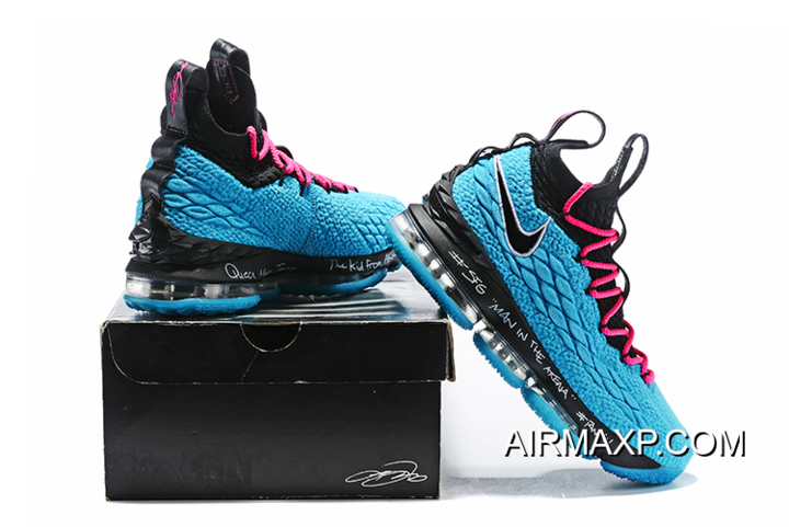 9362b9eef5ef9 Latest Nike LeBron 15 South Beach