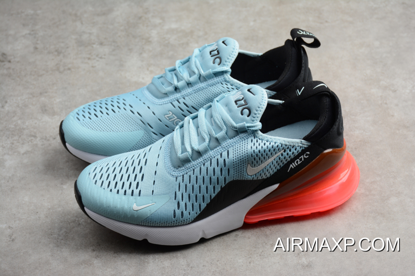 Nike Air Max 270 Ocean Bliss and Black Hot Punch For Sale