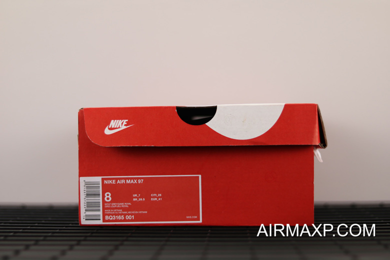 WomenMen Discount Nike Air Max 97 Wolf GreyGame Royal